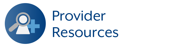 Provider Resources Section