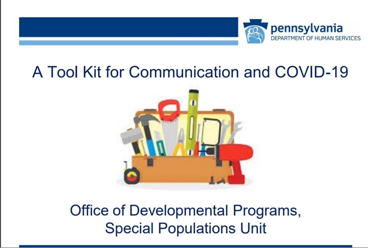 Click for Tool Kit for Communication and COVID-19 recording