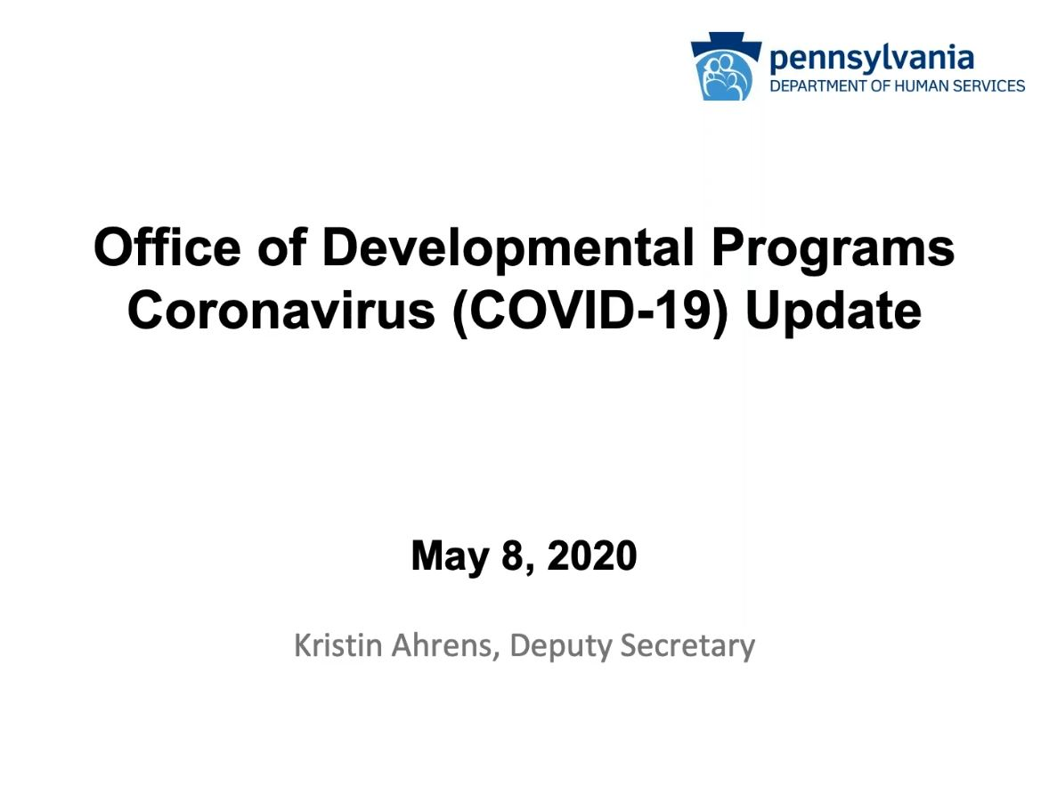 Click for COVID-19 Update with Deputy Secretary Ahrens Recording