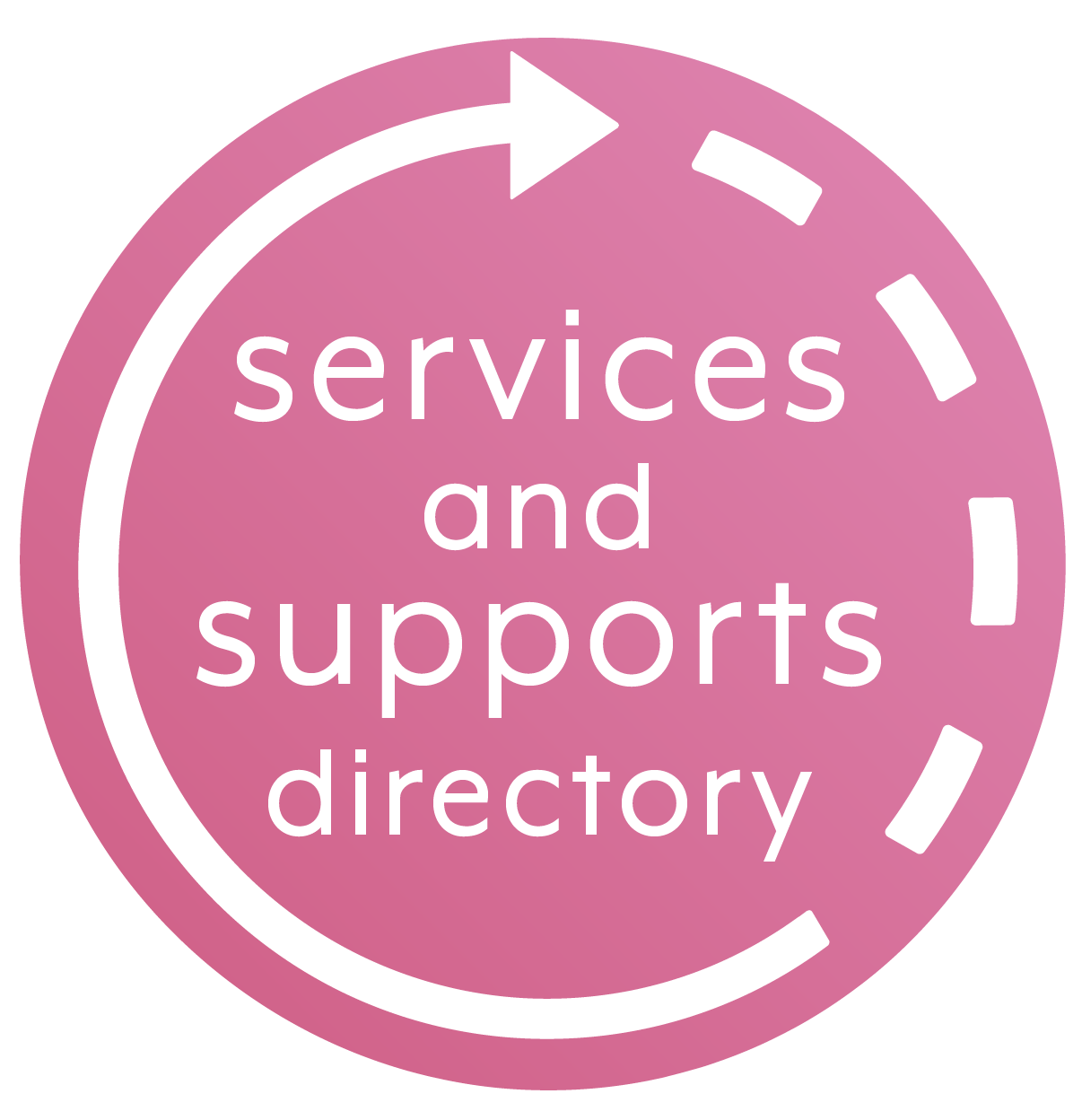 Link to Services and Supports Directory