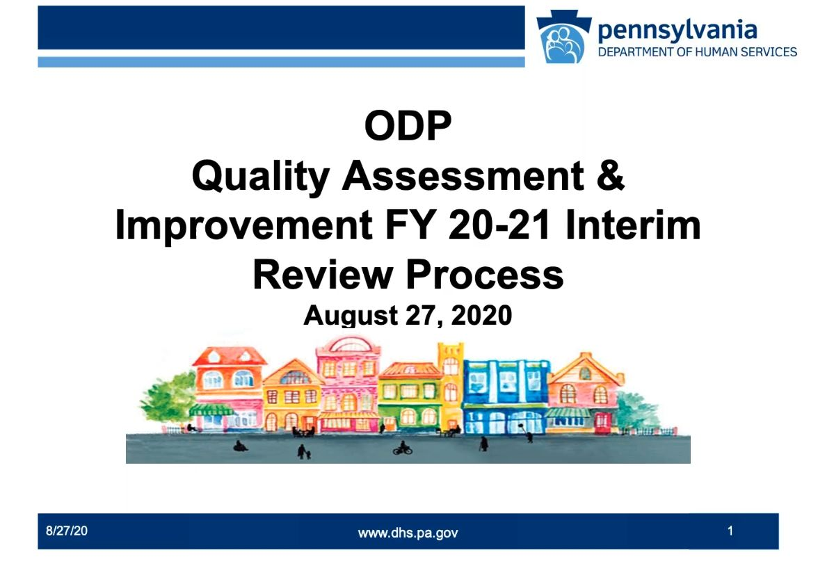 Click for QA&I Interim Review Process recording
