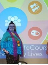 Renee Benise presenting on LifeCourse Framework