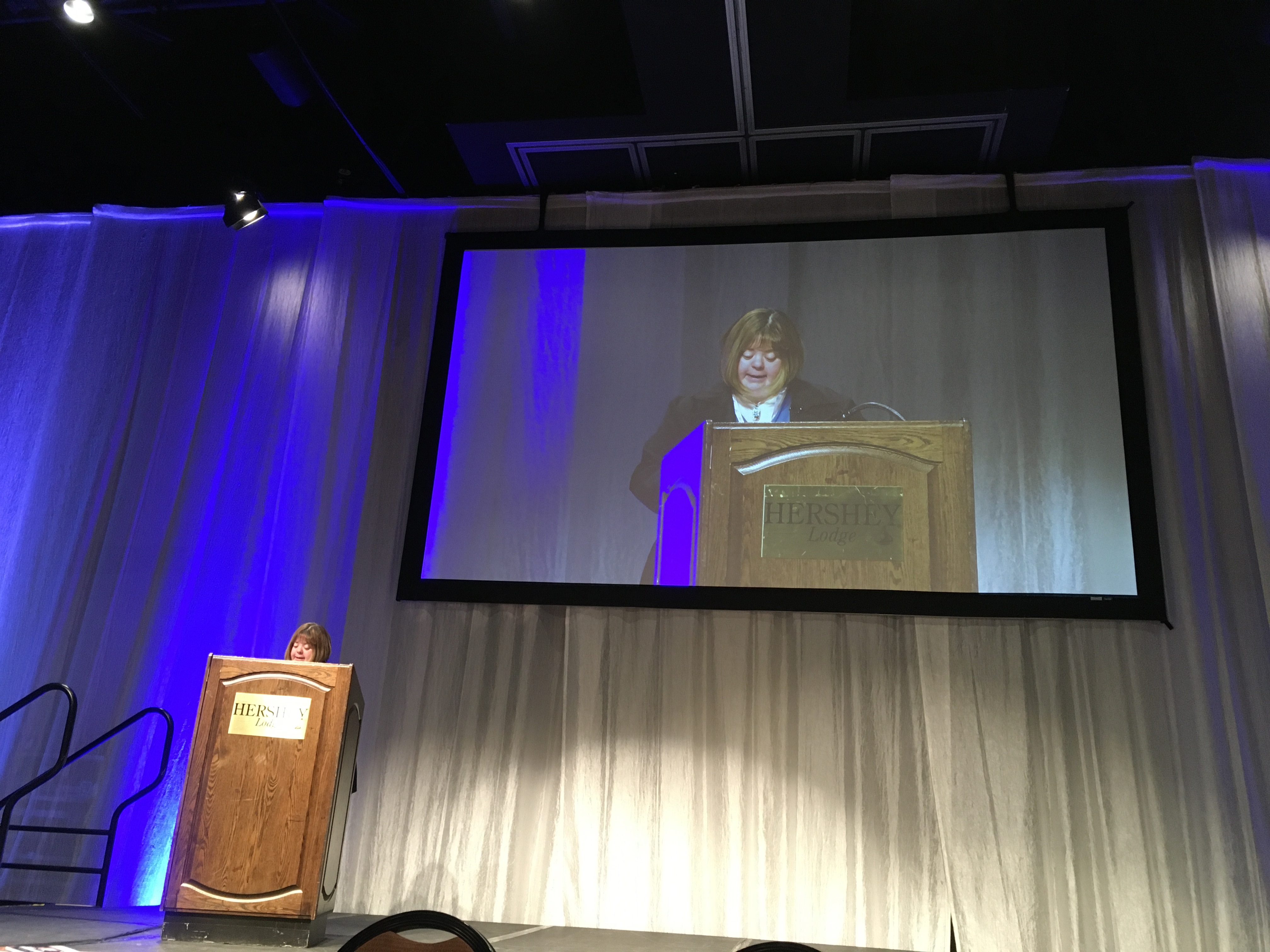 Sara Wolffe Presenting